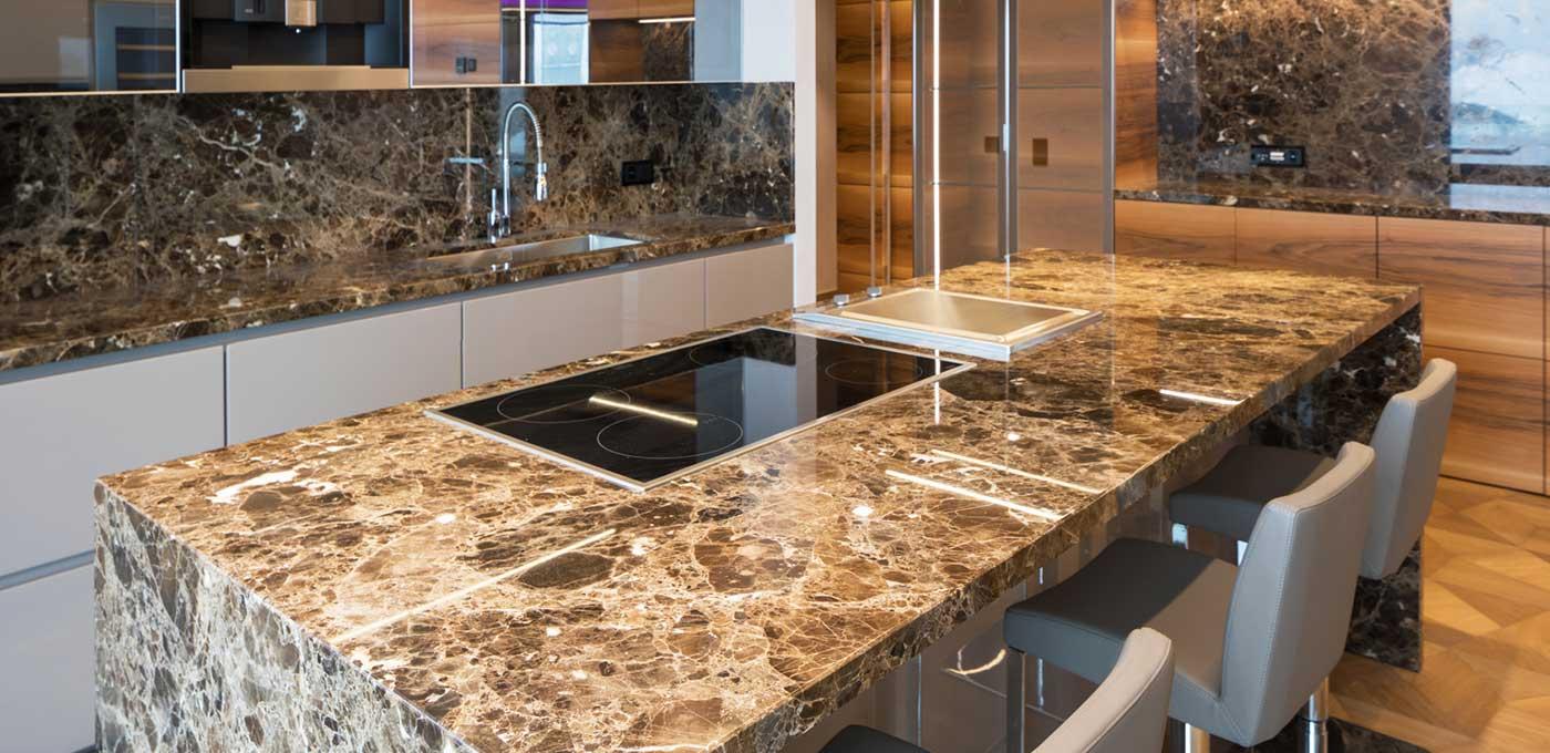 Marmo per Cucina | Lavabo in Pietra Top Cucina Silestone, Quarzo