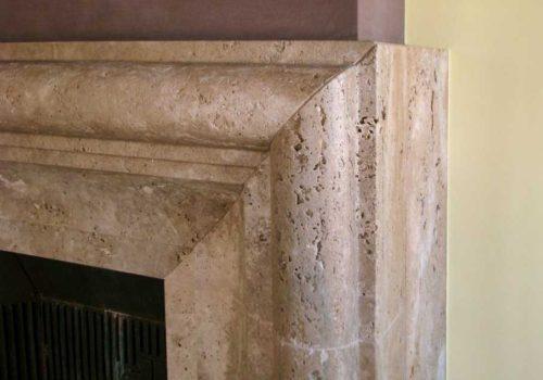 Realizzazione Camino in Pietra