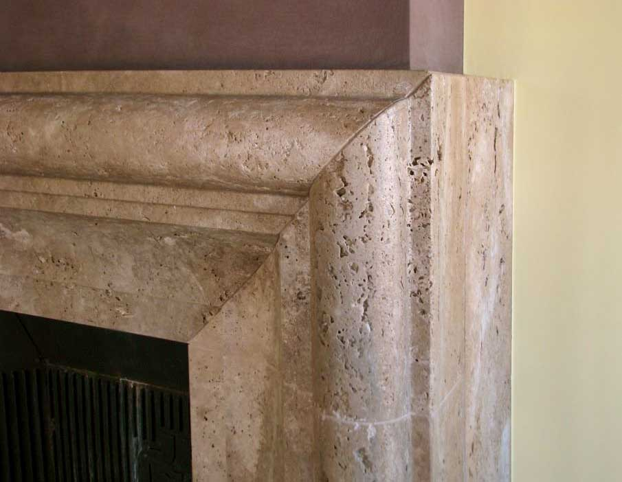 Camino Bianco In Pietra : Camini in pietra e marmo cornici e rivestimenti camino