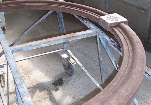Lavorazione Arco in Pietra per Porta